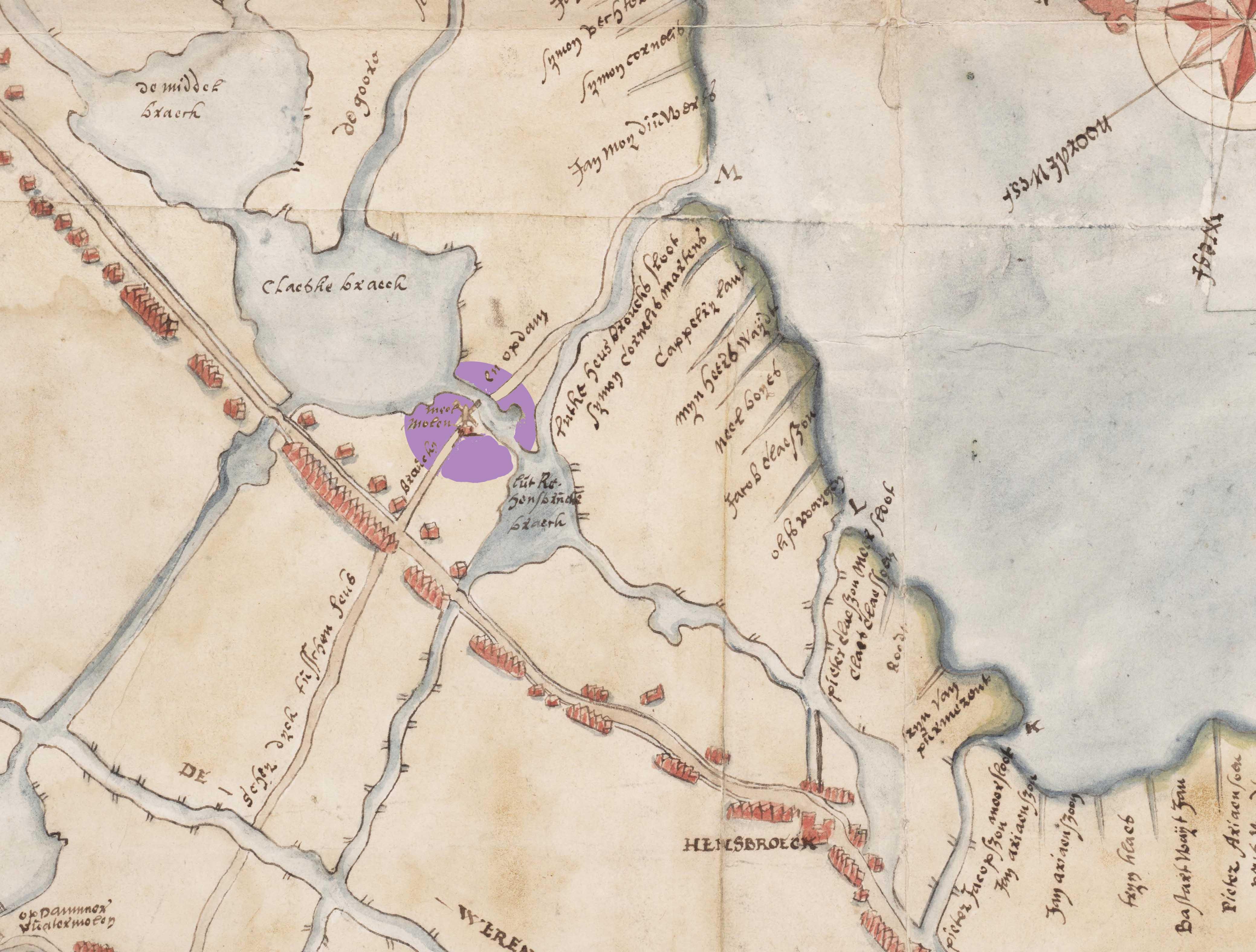 1607 Onbedijkte Wogmeer