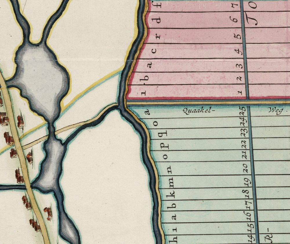 1609 Quaakelweg Verkaveling van de Wogmeer
