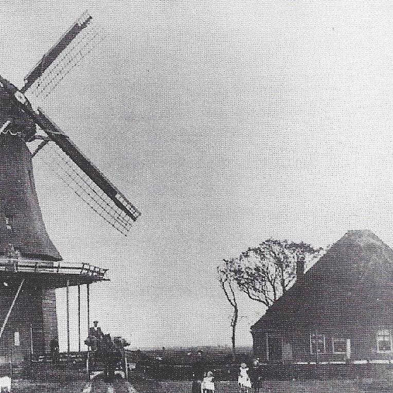 """1908 Korenmolen """"De Jonge Ruiter"""""""