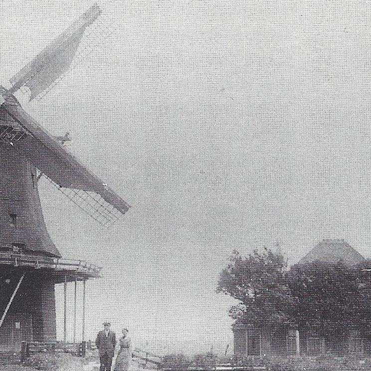 """1920 Korenmolen """"De Jonge Ruiter"""""""